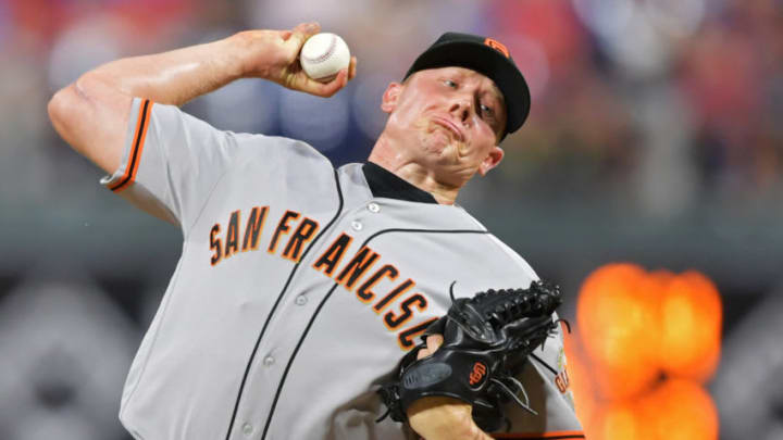 Mark Melancon during his tenure with the SF Giants. (Photo by Drew Hallowell/Getty Images)