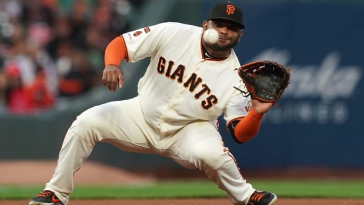 The SF Giants moved on from corner bat Pablo Sandoval on Thursday. (Photo by Thearon W. Henderson/Getty Images)