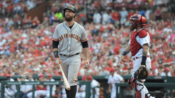 Brandon Belt of the San Francisco Giants. (Photo by Michael B. Thomas /Getty Images)