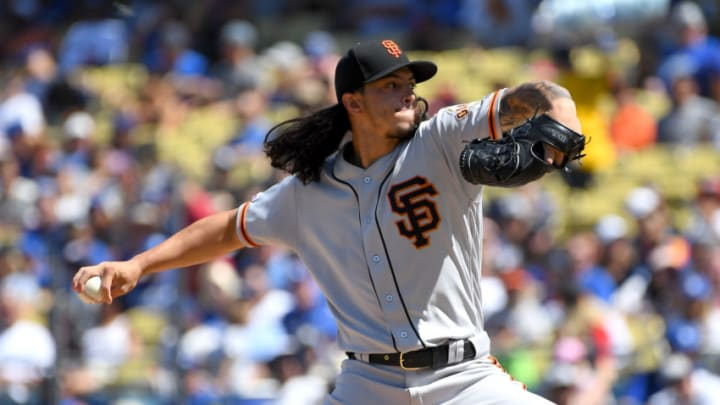 LOS ANGELES, CA - SF Giants RHP Dereck Rodriguez was claimed by the Detroit Tigers. (Photo by Jayne Kamin-Oncea/Getty Images)