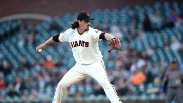 SF Giants pitcher Jeff Samardzija. (Photo by Ezra Shaw/Getty Images)