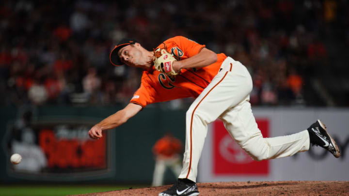 SF Giants post-prospects prospect Tyler Rogers. (Photo by Daniel Shirey/Getty Images)