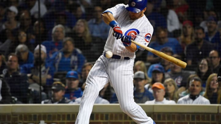 Giants target Ben Zobrist. (Photo by Quinn Harris/Getty Images)