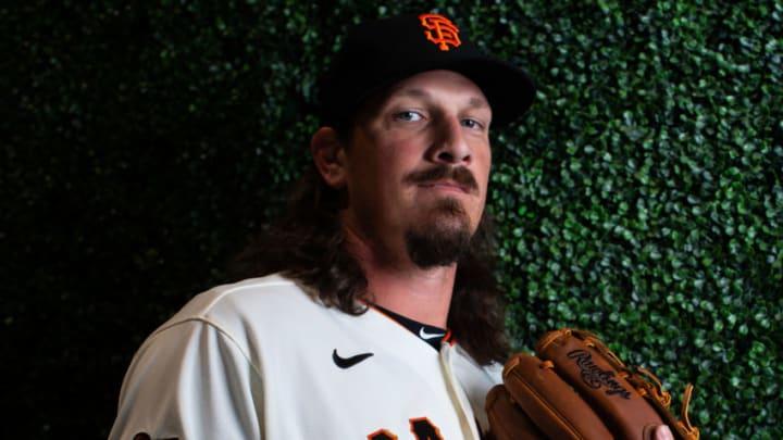 SF Giants pitcher Jeff Samardzija. (Photo by Rob Tringali/Getty Images)