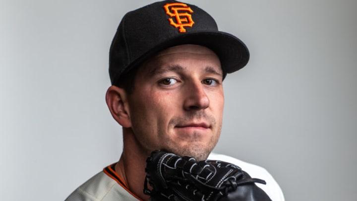 SF Giants pitcher Drew Smyly. (Photo by Rob Tringali/Getty Images)