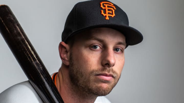 Austin Slater, SF Giants (Photo by Rob Tringali/Getty Images)