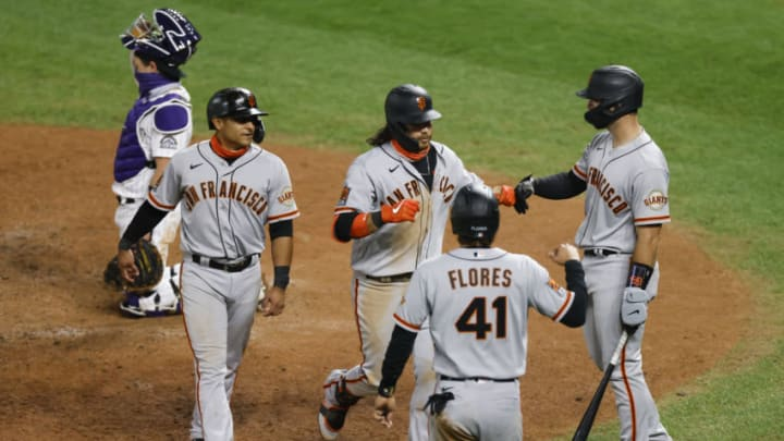 While it was partially a side-effect of the expanded playoffs, the SF Giants were competitive far deeper into the season than anyone expected. (Photo by Justin Edmonds/Getty Images)