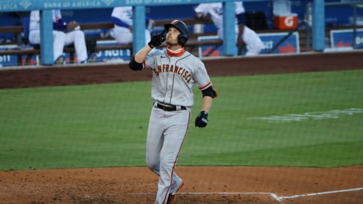 Austin Slater, SF Giants (Photo by Katelyn Mulcahy/Getty Images)