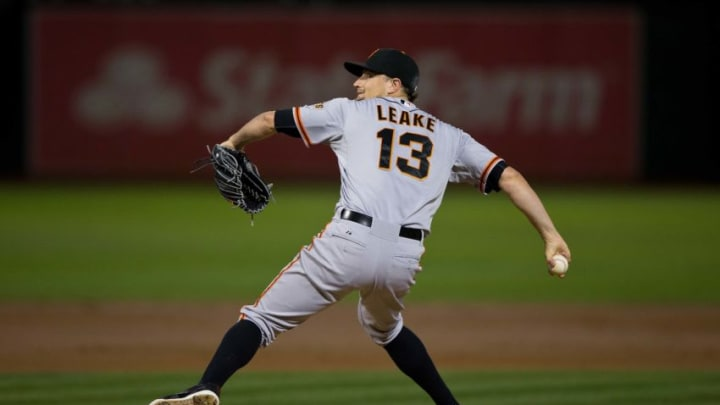 Mike Leake during his tenure with the SF Giants. (Photo by Jason O. Watson/Getty Images)