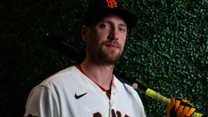 Hunter Pence of the SF Giants is losing sleep over MLB The Show. (Photo by Rob Tringali/Getty Images)