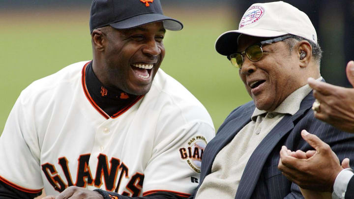 Barry Bonds, Willie Mays, SF Giants