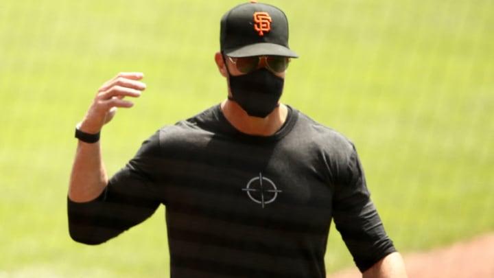 Gabe Kapler, San Francisco Giants (Photo by Ezra Shaw/Getty Images)