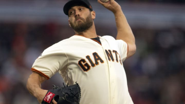 Apr 4, 2018; San Francisco, CA, USA; San Francisco Giants pitcher Josh Osich (61) delivers against the Seattle Mariners in the seventh inning of a baseball game at AT&T Park. Mandatory Credit: D. Ross Cameron-USA TODAY Sports