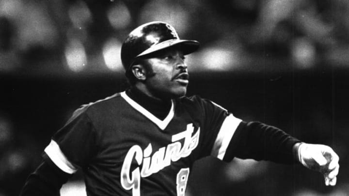 Joe Morgan with the SF Giants in 1982. (The Enquirer/Dick Swaim)