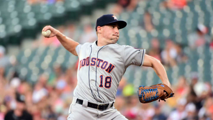 The SF Giants signed former Houston Astros pitcher Aaron Sanchez. (Evan Habeeb-USA TODAY Sports)