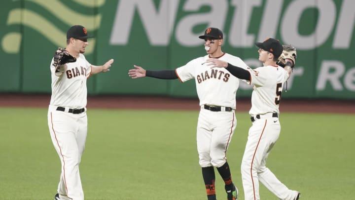 SF Giants, Alex Dickerson, Mike Yastrzemski