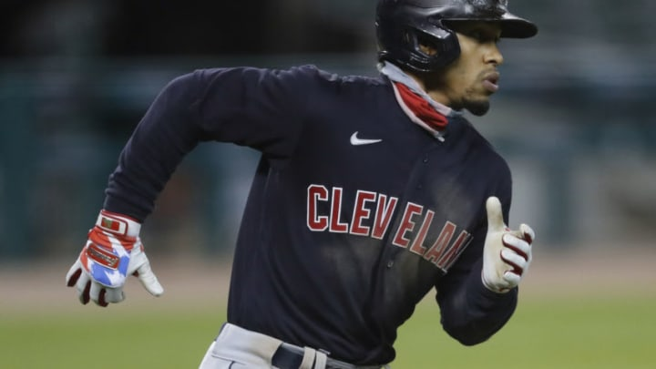 Cleveland Baseball Team shortstop Francisco Lindor could have become the SF Giants biggest acquisition in years. While they didn't make the deal, they reportedly made some calls. (Raj Mehta-USA TODAY Sports)