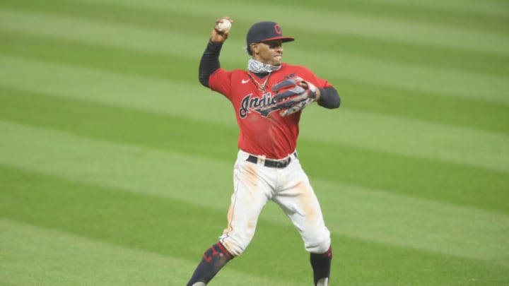 Cleveland Indians shortstop Francisco Lindor could very easily become the SF Giants biggest acquisition in years. (David Richard-USA TODAY Sports