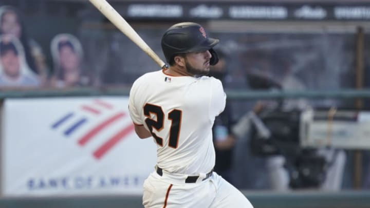 Read about Joey Bart and other exciting SF Giants prospects in Around the Foghorn's upcoming prospect week content. (Kyle Terada-USA TODAY Sports)