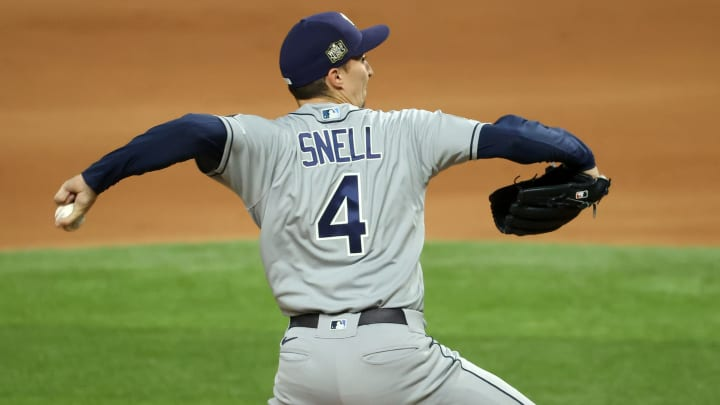SF Giants, Blake Snell, Tampa Bay Rays