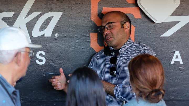 SF Giants, Farhan Zaidi