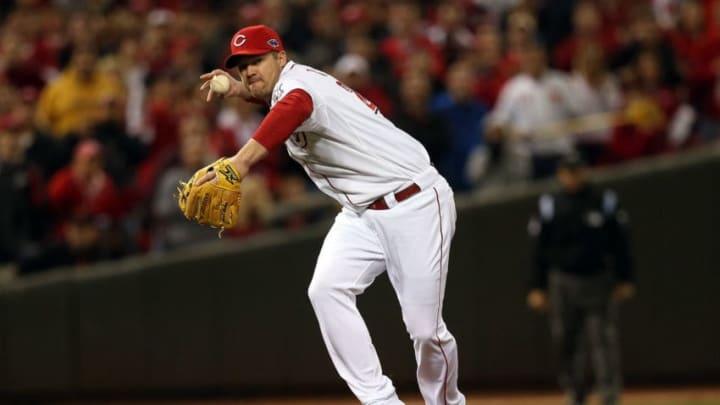 Scott Rolen, Cincinnati Reds. (Photo by Jonathan Daniel/Getty Images)