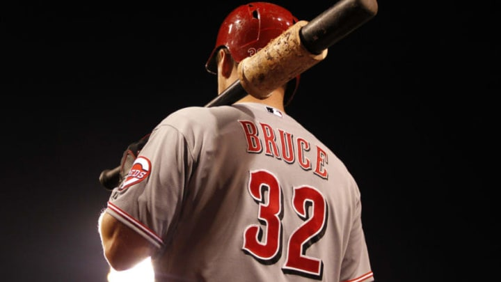 PITTSBURGH, PA - JUNE 25: Jay Bruce #32 of the Cincinnati Reds (Photo by Justin K. Aller/Getty Images)