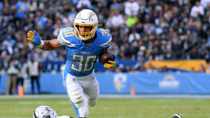 Austin Ekeler #30 of the Los Angeles Chargers (Photo by Harry How/Getty Images)