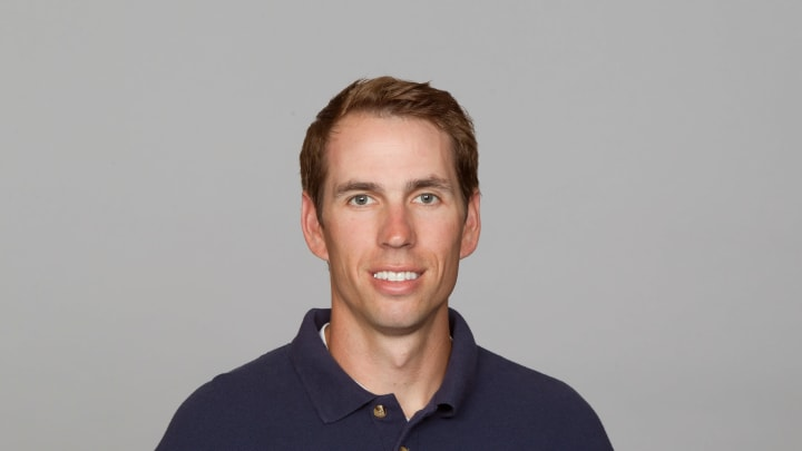 SAN DIEGO, CA – CIRCA 2011: In this handout image provided by the NFL, Shane Steichen of the San Diego Chargers poses for his NFL headshot circa 2011 in San Diego, California. (Photo by NFL via Getty Images)