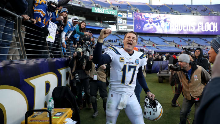 (Photo by Rob Carr/Getty Images) – LA Chargers