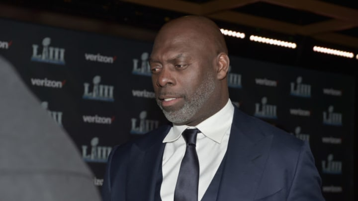 """ATLANTA, GEORGIA - JANUARY 31: Anthony Lynn attends the world premiere event for """"The Team That Wouldn't Be Here"""" documentary hosted by Verizon on January 31, 2019 in Atlanta, Georgia. (Photo by Moses Robinson/Getty Images fro Verizon)"""