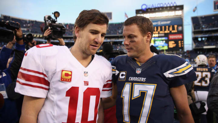 SAN DIEGO, CA - DECEMBER 08: Eli Manning
