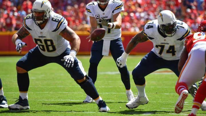 KANSAS CITY, MO – SEPTEMBER 11: Quarterback Philip Rivers
