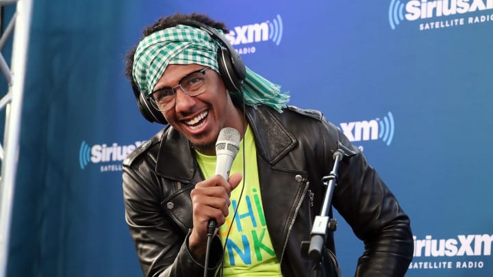 NEW YORK, NY – APRIL 24: Nick Cannon and Ncredible Gang perform on SiriusXM's Hip Hop Nation on April 24, 2018 in New York City. (Photo by Astrid Stawiarz/Getty Images for SiriusXM)