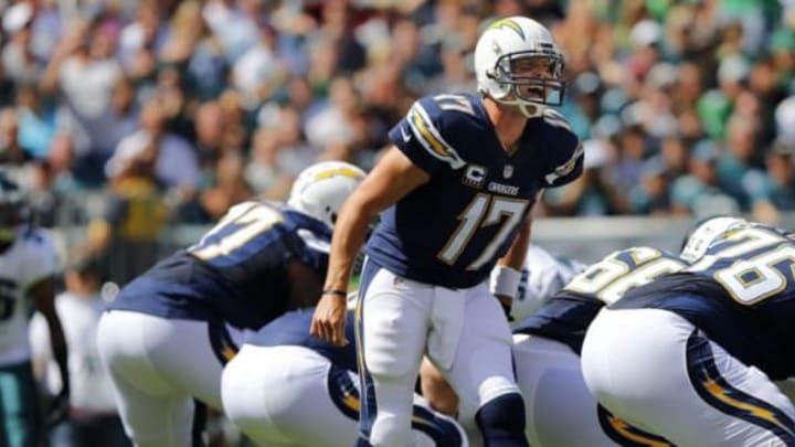 PHILADELPHIA, PA – SEPTEMBER 15: Quarterback Philip Rivers