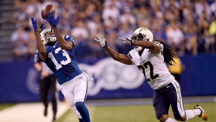 INDIANAPOLIS, IN - SEPTEMBER 25: T.Y. Hilton