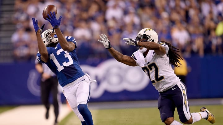 INDIANAPOLIS, IN – SEPTEMBER 25: T.Y. Hilton