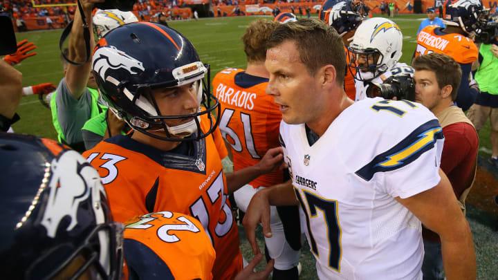 DENVER, CO – OCTOBER 30: Quarterback Philip Rivers
