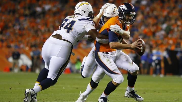 DENVER, CO - SEPTEMBER 11: Quarterback Trevor Siemian