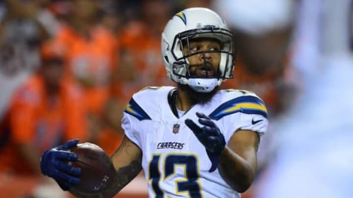 DENVER, CO – SEPTEMBER 11: Wide receiver Keenan Allen