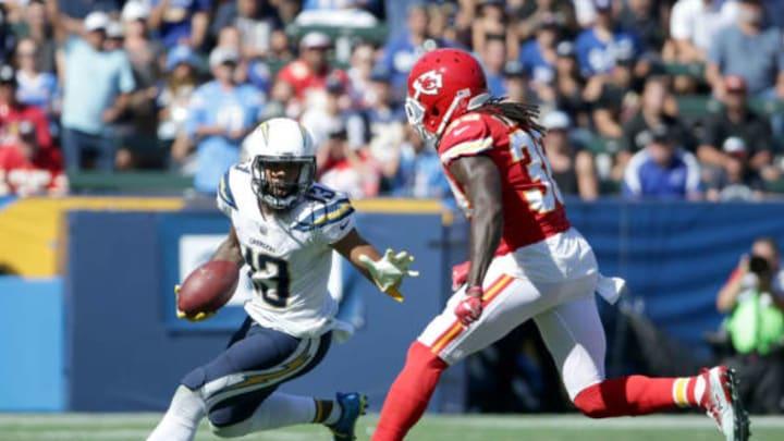 CARSON, CA – SEPTEMBER 24: Wide receiver Keenan Allen