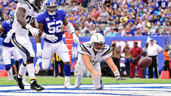 EAST RUTHERFORD, NJ – OCTOBER 08: Philip Rivers