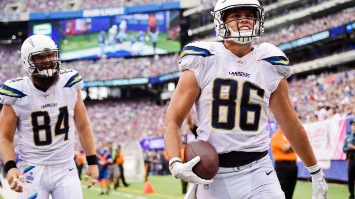 #86 Los Angeles Charger Tight End Hunter Henry (Getty Images)
