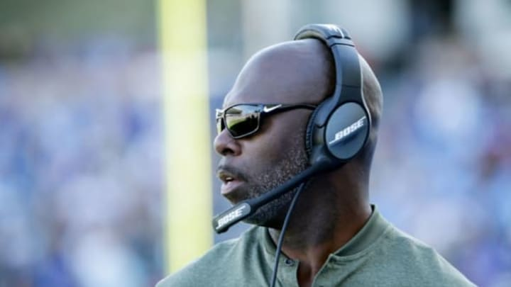 CARSON, CA – NOVEMBER 19: Head Coach Anthony Lynns of the Los Angeles Chargers watches the play on the field during the NFL game against the Buffalo Bills at the StubHub Center on November 19, 2017 in Carson, California. (Photo by Jeff Gross/Getty Images)