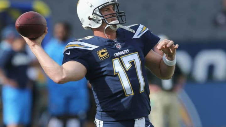 CARSON, CA - DECEMBER 10: Quarterback Philip Rivers