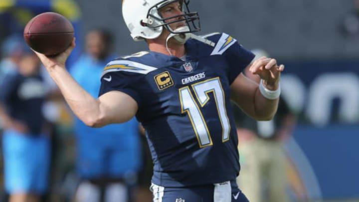 CARSON, CA – DECEMBER 10: Quarterback Philip Rivers