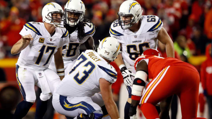 KANSAS CITY, MO - DECEMBER 16: Quarterback Philip Rivers
