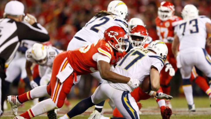 KANSAS CITY, MO – DECEMBER 16: Defensive end Chris Jones