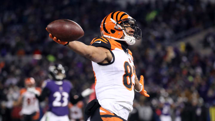 Cincinnati Bengals Wide receiver Tyler Boyd has enjoyed a breakout season in 2018 amid mid-season struggles for the team. This photo was taken on Dec. 31, 2017. (Photo by Rob Carr/Getty Images)