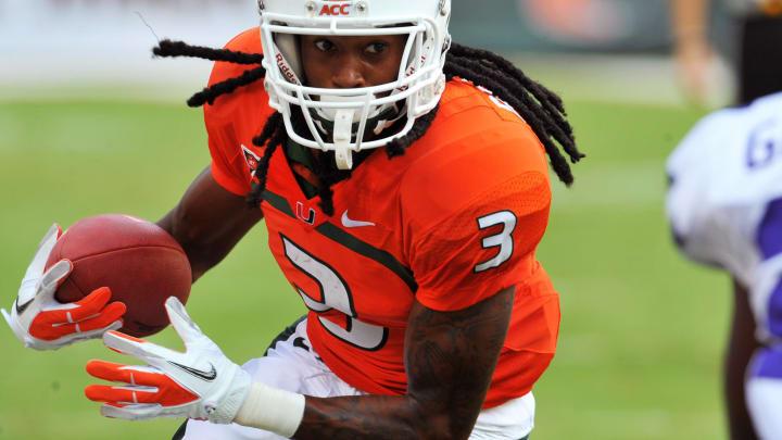 MIAMI GARDENS, FL – SEPTEMBER 24: Wide receiver Travis Benjamin